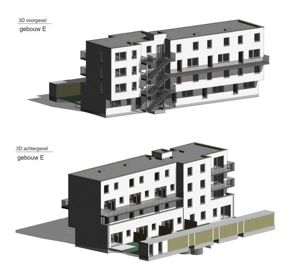 PT 30: Houtem - nieuwe flatgebouwen - gebouw E