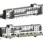 PT 30: Houtem - nieuwe flatgebouwen - gebouw F