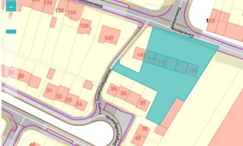 PT 62: Zaventemsesteenweg - inplanting nieuwbouw
