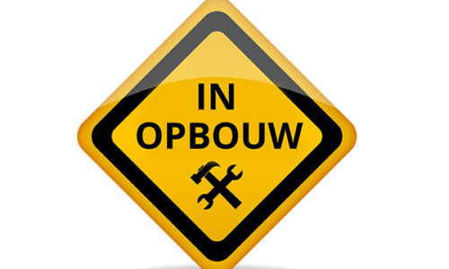pagina in opbouw